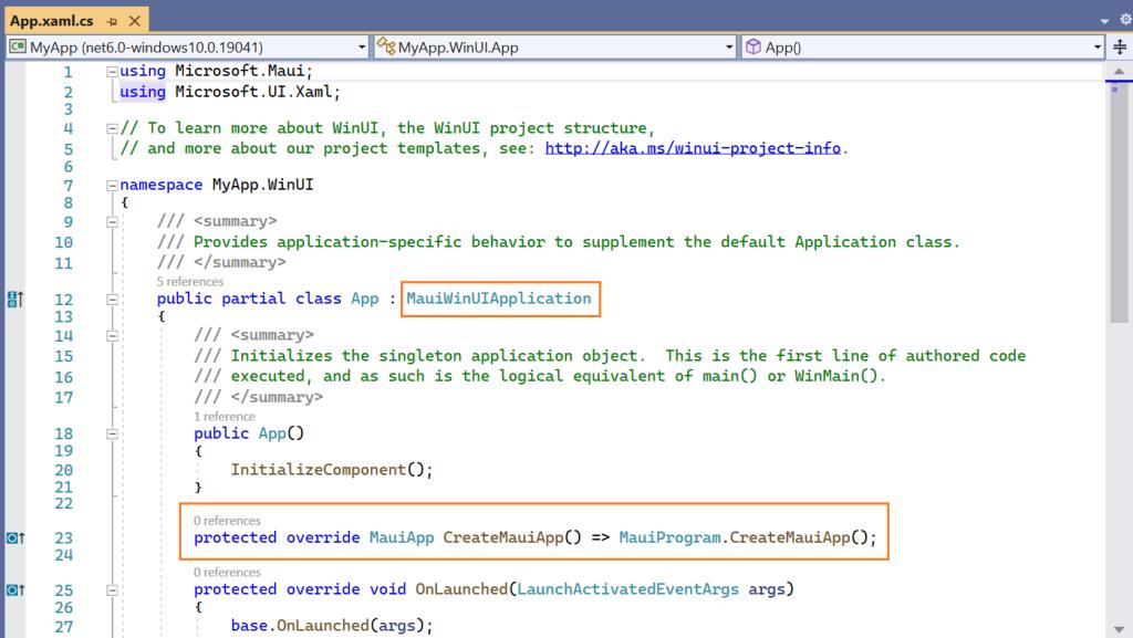 Windows Application Startup